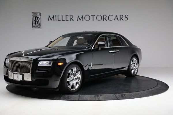Used 2011 Rolls-Royce Ghost for sale Call for price at Alfa Romeo of Greenwich in Greenwich CT 06830 3