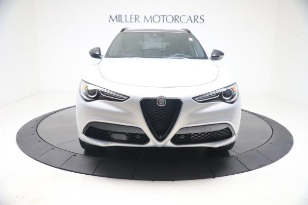 New 2021 Alfa Romeo Stelvio Ti Sport Q4 for sale $57,200 at Alfa Romeo of Greenwich in Greenwich CT 06830 12