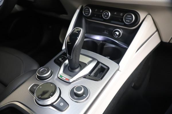 New 2021 Alfa Romeo Stelvio Ti Sport Q4 for sale $57,200 at Alfa Romeo of Greenwich in Greenwich CT 06830 16