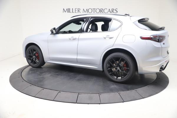 New 2021 Alfa Romeo Stelvio Ti Sport Q4 for sale $57,200 at Alfa Romeo of Greenwich in Greenwich CT 06830 4
