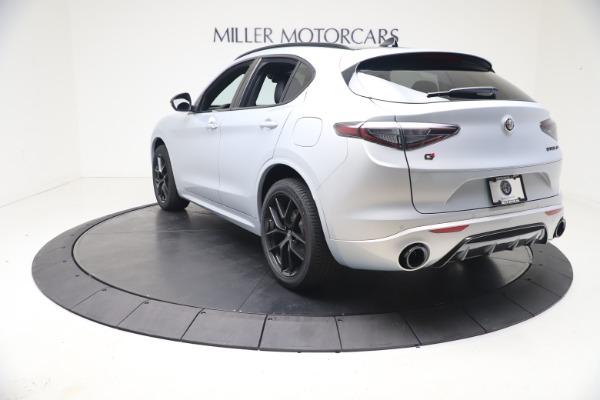 New 2021 Alfa Romeo Stelvio Ti Sport Q4 for sale $57,200 at Alfa Romeo of Greenwich in Greenwich CT 06830 5