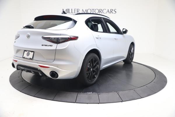 New 2021 Alfa Romeo Stelvio Ti Sport Q4 for sale $57,200 at Alfa Romeo of Greenwich in Greenwich CT 06830 7