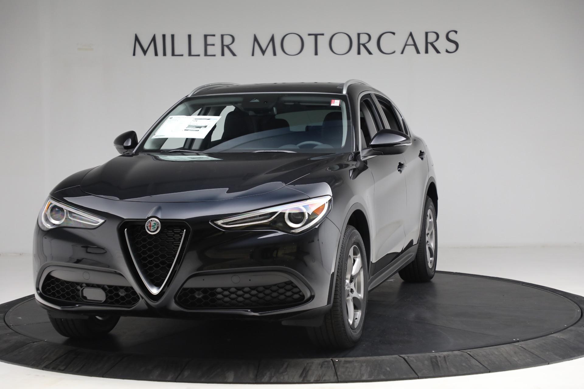 New 2021 Alfa Romeo Stelvio Q4 for sale $49,945 at Alfa Romeo of Greenwich in Greenwich CT 06830 1