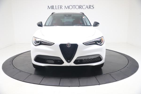 New 2021 Alfa Romeo Stelvio Ti Q4 for sale $53,740 at Alfa Romeo of Greenwich in Greenwich CT 06830 13