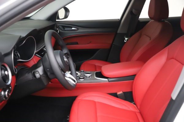 New 2021 Alfa Romeo Stelvio Ti Q4 for sale $53,740 at Alfa Romeo of Greenwich in Greenwich CT 06830 15