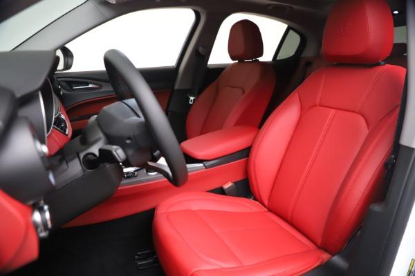 New 2021 Alfa Romeo Stelvio Ti Q4 for sale $53,740 at Alfa Romeo of Greenwich in Greenwich CT 06830 16
