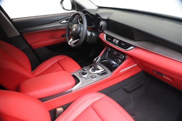 New 2021 Alfa Romeo Stelvio Ti Q4 for sale $53,740 at Alfa Romeo of Greenwich in Greenwich CT 06830 19