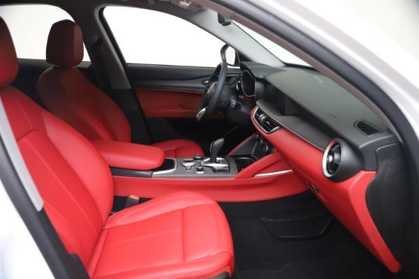 New 2021 Alfa Romeo Stelvio Ti Q4 for sale $53,740 at Alfa Romeo of Greenwich in Greenwich CT 06830 20