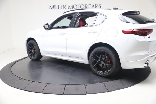 New 2021 Alfa Romeo Stelvio Ti Q4 for sale $53,740 at Alfa Romeo of Greenwich in Greenwich CT 06830 4