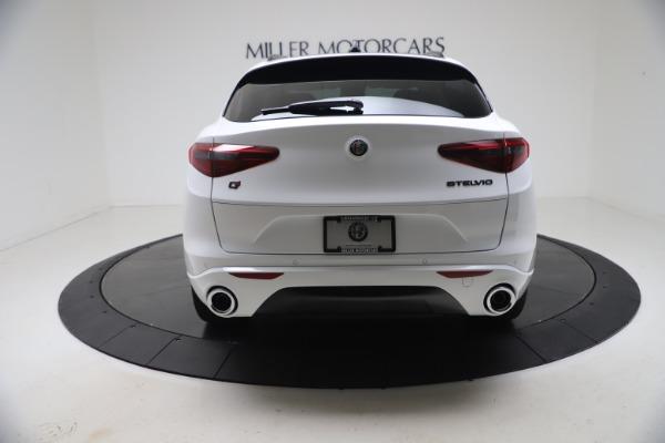 New 2021 Alfa Romeo Stelvio Ti Q4 for sale $53,740 at Alfa Romeo of Greenwich in Greenwich CT 06830 6