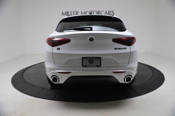 New 2021 Alfa Romeo Stelvio Ti Q4 for sale $53,740 at Alfa Romeo of Greenwich in Greenwich CT 06830 7
