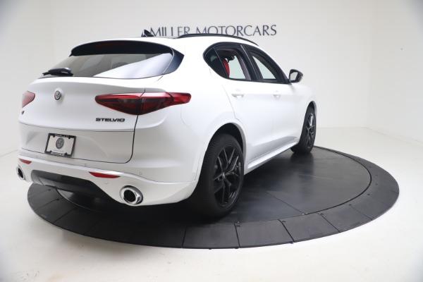 New 2021 Alfa Romeo Stelvio Ti Q4 for sale $53,740 at Alfa Romeo of Greenwich in Greenwich CT 06830 8