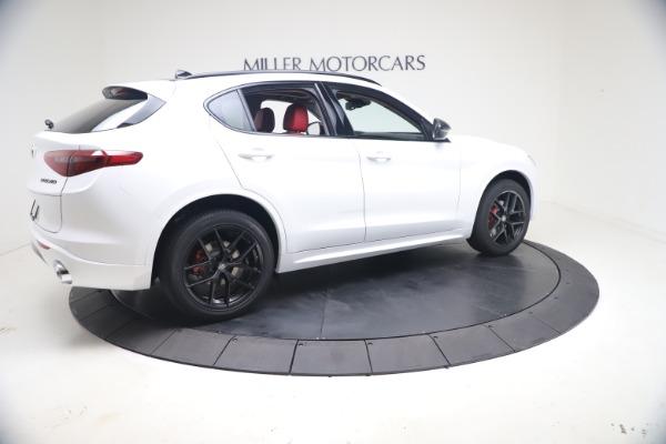 New 2021 Alfa Romeo Stelvio Ti Q4 for sale $53,740 at Alfa Romeo of Greenwich in Greenwich CT 06830 9