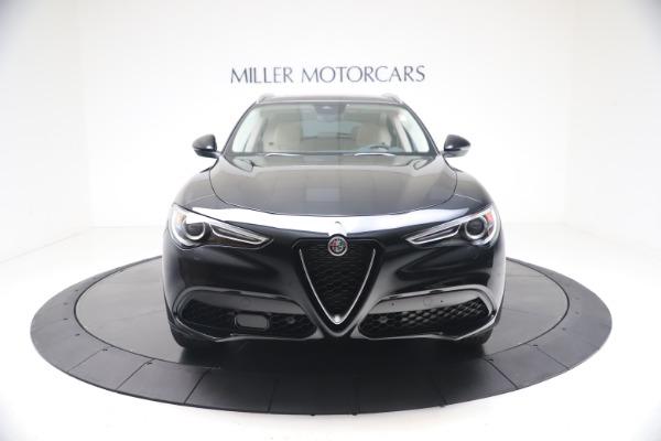 New 2021 Alfa Romeo Stelvio Ti Q4 for sale $54,755 at Alfa Romeo of Greenwich in Greenwich CT 06830 12