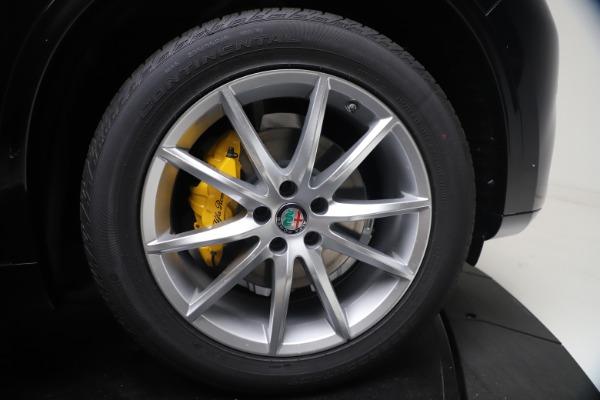 New 2021 Alfa Romeo Stelvio Ti Q4 for sale $54,755 at Alfa Romeo of Greenwich in Greenwich CT 06830 13