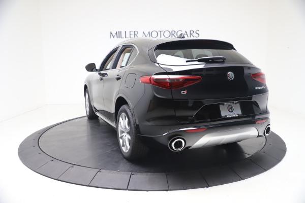 New 2021 Alfa Romeo Stelvio Ti Q4 for sale $54,755 at Alfa Romeo of Greenwich in Greenwich CT 06830 5