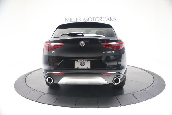 New 2021 Alfa Romeo Stelvio Ti Q4 for sale $54,755 at Alfa Romeo of Greenwich in Greenwich CT 06830 6