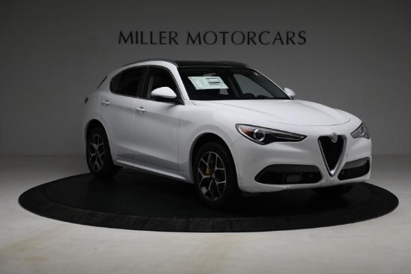 New 2021 Alfa Romeo Stelvio Ti Q4 for sale $54,840 at Alfa Romeo of Greenwich in Greenwich CT 06830 11