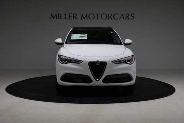 New 2021 Alfa Romeo Stelvio Ti Q4 for sale $54,840 at Alfa Romeo of Greenwich in Greenwich CT 06830 12