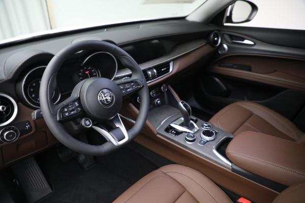 New 2021 Alfa Romeo Stelvio Ti Q4 for sale $54,840 at Alfa Romeo of Greenwich in Greenwich CT 06830 13