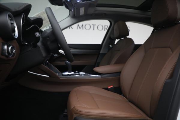 New 2021 Alfa Romeo Stelvio Ti Q4 for sale $54,840 at Alfa Romeo of Greenwich in Greenwich CT 06830 14