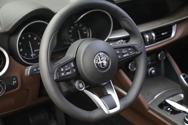 New 2021 Alfa Romeo Stelvio Ti Q4 for sale $54,840 at Alfa Romeo of Greenwich in Greenwich CT 06830 17