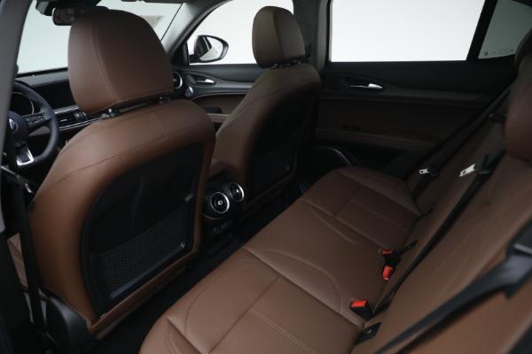 New 2021 Alfa Romeo Stelvio Ti Q4 for sale $54,840 at Alfa Romeo of Greenwich in Greenwich CT 06830 22
