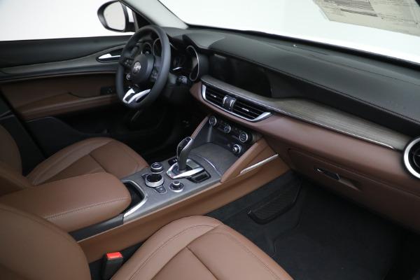 New 2021 Alfa Romeo Stelvio Ti Q4 for sale $54,840 at Alfa Romeo of Greenwich in Greenwich CT 06830 27