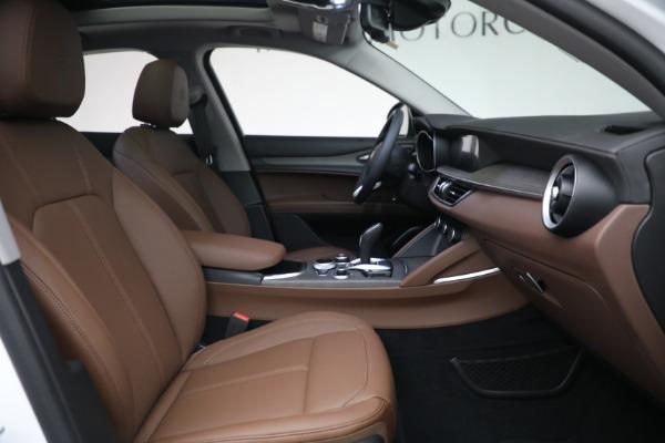 New 2021 Alfa Romeo Stelvio Ti Q4 for sale $54,840 at Alfa Romeo of Greenwich in Greenwich CT 06830 28