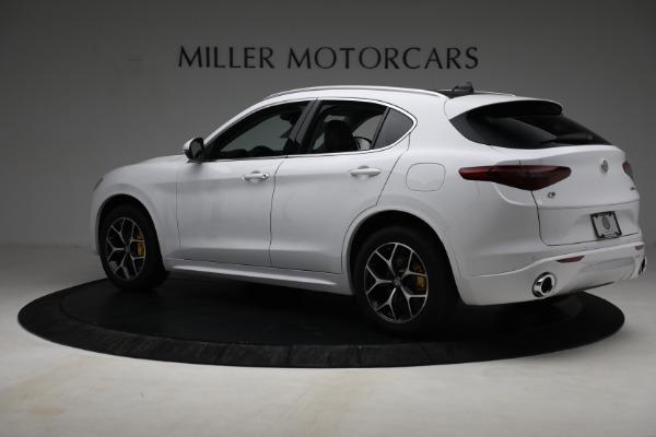New 2021 Alfa Romeo Stelvio Ti Q4 for sale $54,840 at Alfa Romeo of Greenwich in Greenwich CT 06830 4
