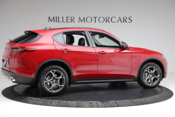 New 2021 Alfa Romeo Stelvio Q4 for sale $50,535 at Alfa Romeo of Greenwich in Greenwich CT 06830 11