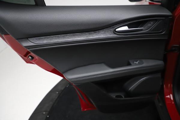 New 2021 Alfa Romeo Stelvio Q4 for sale $50,535 at Alfa Romeo of Greenwich in Greenwich CT 06830 22