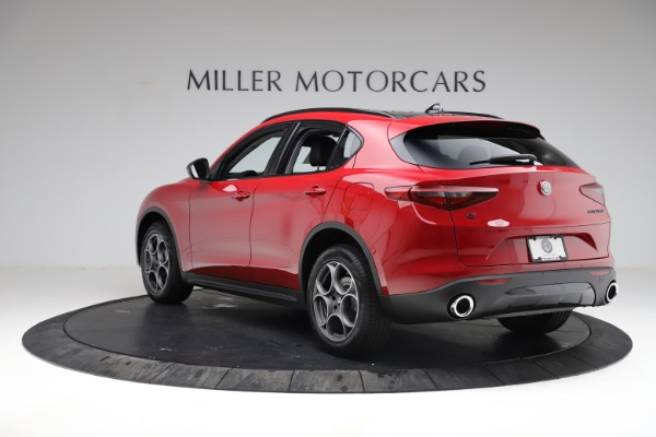 New 2021 Alfa Romeo Stelvio Q4 for sale $50,535 at Alfa Romeo of Greenwich in Greenwich CT 06830 6