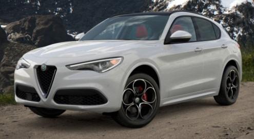 New 2021 Alfa Romeo Stelvio Ti Sport Q4 for sale $54,740 at Alfa Romeo of Greenwich in Greenwich CT 06830 1