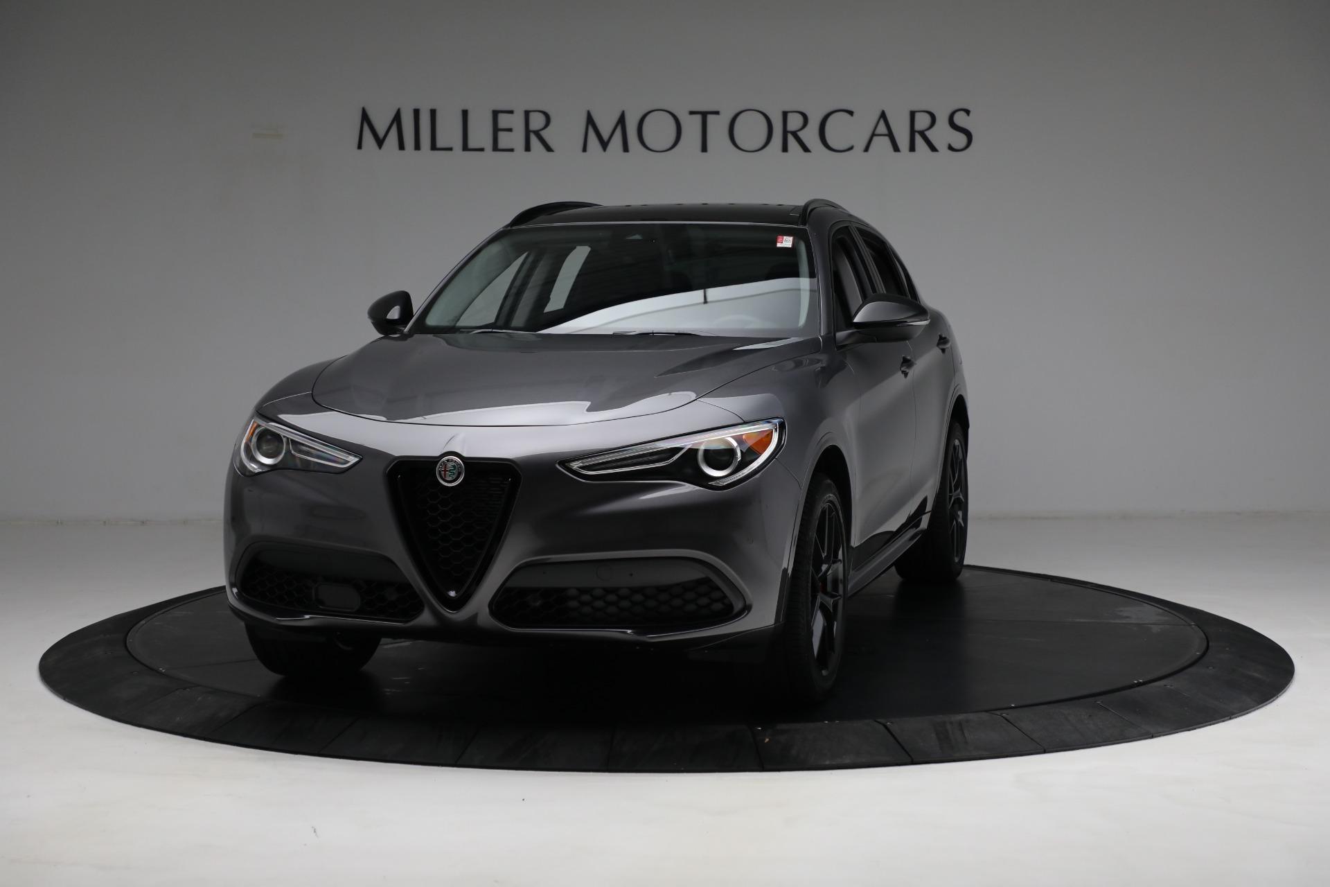 New 2021 Alfa Romeo Stelvio Ti Q4 for sale $52,705 at Alfa Romeo of Greenwich in Greenwich CT 06830 1