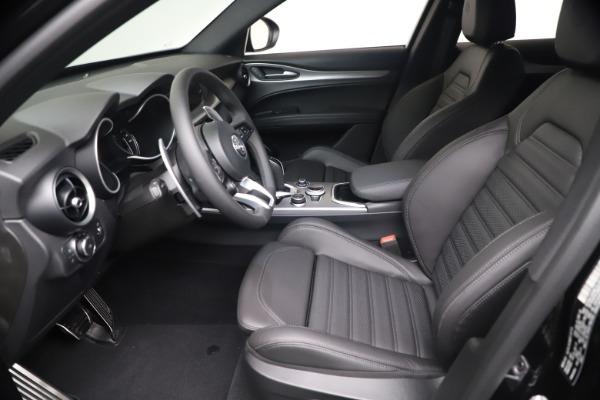 New 2021 Alfa Romeo Stelvio Ti Sport Q4 for sale $56,900 at Alfa Romeo of Greenwich in Greenwich CT 06830 14