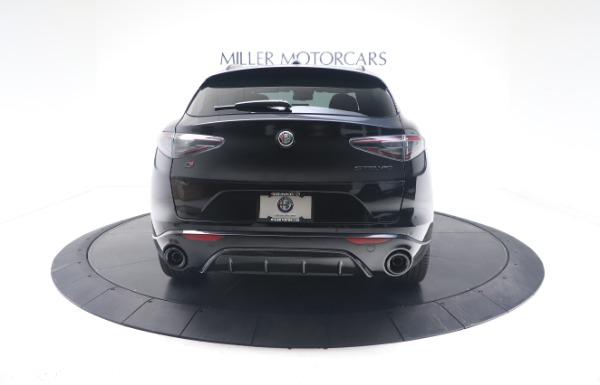 New 2021 Alfa Romeo Stelvio Ti Sport Q4 for sale $56,900 at Alfa Romeo of Greenwich in Greenwich CT 06830 6
