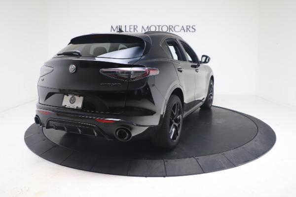New 2021 Alfa Romeo Stelvio Ti Sport Q4 for sale $56,900 at Alfa Romeo of Greenwich in Greenwich CT 06830 7