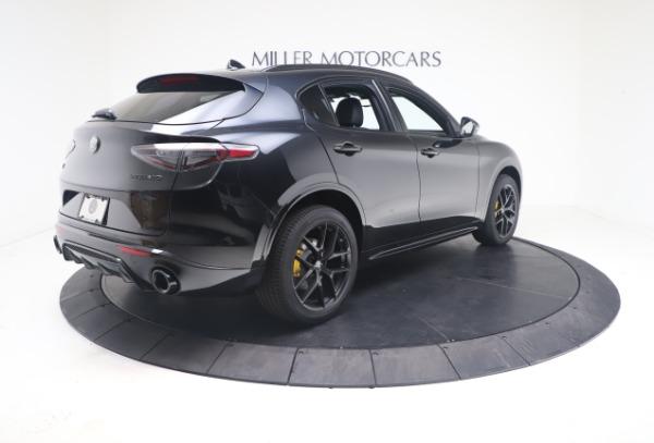 New 2021 Alfa Romeo Stelvio Ti Sport Q4 for sale $56,900 at Alfa Romeo of Greenwich in Greenwich CT 06830 8