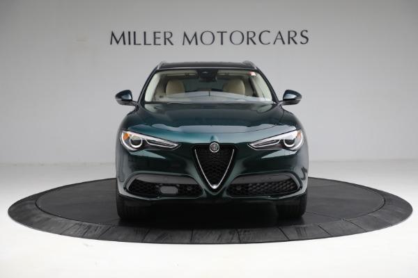 New 2021 Alfa Romeo Stelvio Ti Q4 for sale $55,205 at Alfa Romeo of Greenwich in Greenwich CT 06830 12