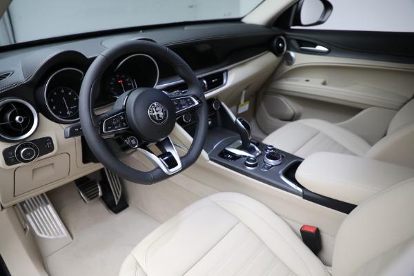 New 2021 Alfa Romeo Stelvio Ti Q4 for sale $55,205 at Alfa Romeo of Greenwich in Greenwich CT 06830 13