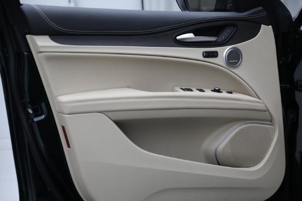 New 2021 Alfa Romeo Stelvio Ti Q4 for sale $55,205 at Alfa Romeo of Greenwich in Greenwich CT 06830 17
