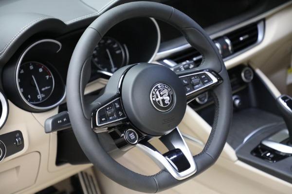 New 2021 Alfa Romeo Stelvio Ti Q4 for sale $55,205 at Alfa Romeo of Greenwich in Greenwich CT 06830 20