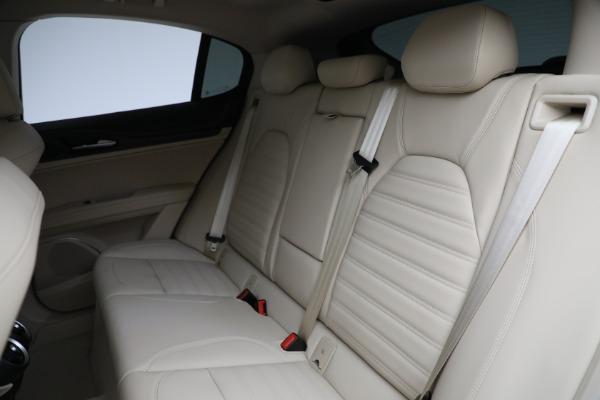 New 2021 Alfa Romeo Stelvio Ti Q4 for sale $55,205 at Alfa Romeo of Greenwich in Greenwich CT 06830 25