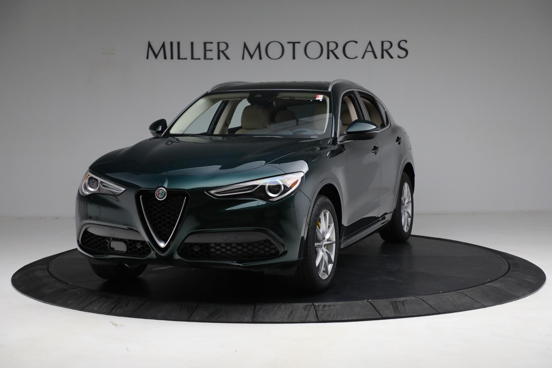 New 2021 Alfa Romeo Stelvio Ti Q4 for sale $55,205 at Alfa Romeo of Greenwich in Greenwich CT 06830 1
