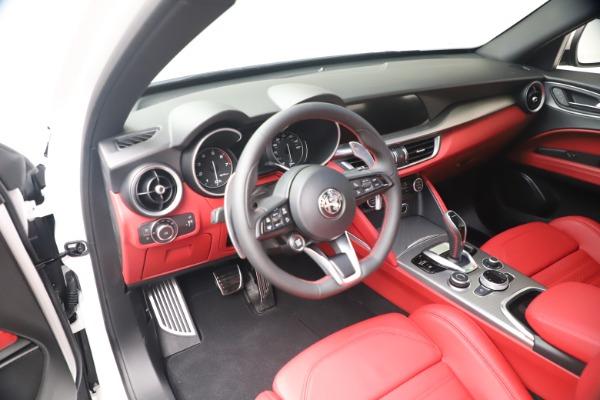 New 2021 Alfa Romeo Stelvio Ti Sport Q4 for sale Call for price at Alfa Romeo of Greenwich in Greenwich CT 06830 13
