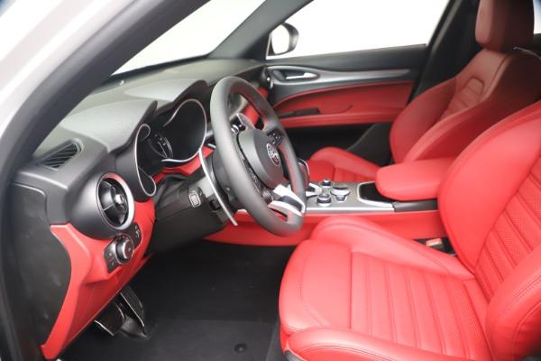 New 2021 Alfa Romeo Stelvio Ti Sport Q4 for sale Call for price at Alfa Romeo of Greenwich in Greenwich CT 06830 14