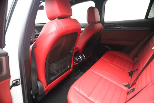 New 2021 Alfa Romeo Stelvio Ti Sport Q4 for sale Call for price at Alfa Romeo of Greenwich in Greenwich CT 06830 17