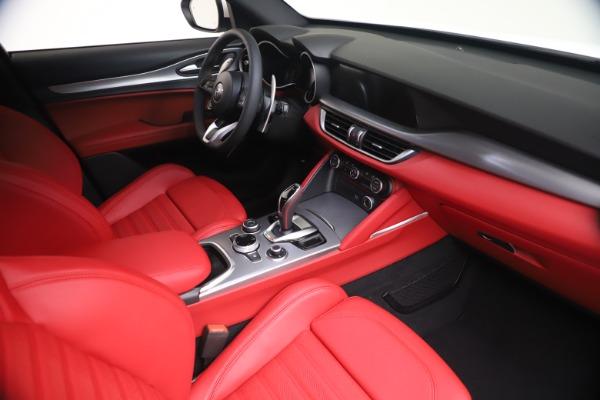 New 2021 Alfa Romeo Stelvio Ti Sport Q4 for sale Call for price at Alfa Romeo of Greenwich in Greenwich CT 06830 18
