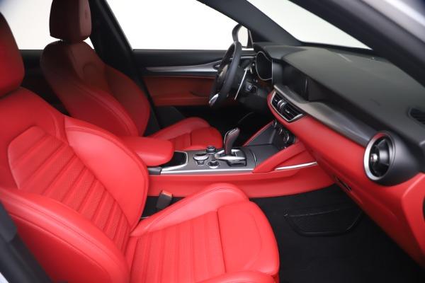 New 2021 Alfa Romeo Stelvio Ti Sport Q4 for sale Call for price at Alfa Romeo of Greenwich in Greenwich CT 06830 19